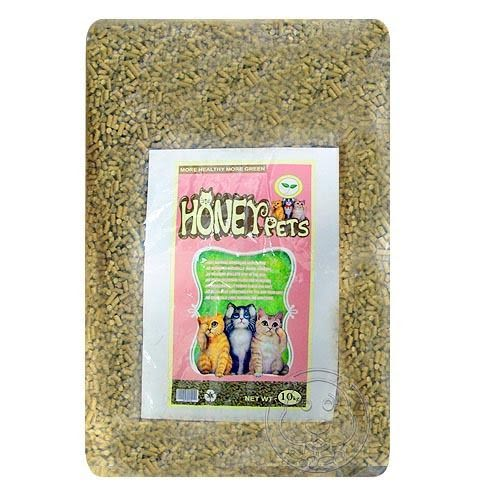 【 ZOO寵物樂園 】Honey Pets《環保原木松木砂》-10公斤↓(1包)