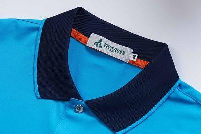 JOHN DUKE 約翰公爵舒適機能涼感POLO衫 (藍)