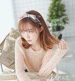 蝴蝶結發卡發箍韓國簡約寬邊壓發帶成人甜美頭飾頭箍日韓女發飾品花間公主