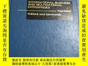二手書博民逛書店INTERNATIONAL罕見BUSINESS AND MULTINATIONAL ENTERPRISESY2