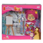 玩具反斗城 瑪莎與熊 瑪莎小畫家