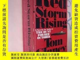 二手書博民逛書店Red罕見Storm Rising 英文原版《紅色風暴》Y857