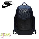 NIKE後背包 氣墊背包運動背包筆電包耐吉BA5479-410 深藍/灰