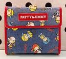 【震撼精品百貨】彼得&吉米Patty & Jimmy~三麗鷗 彼得&吉米短夾-牛仔*19906