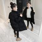 女童羽絨棉服冬裝新款韓版網紅中大童中長款...