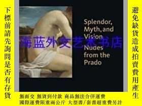 二手書博民逛書店Splendor,罕見Myth, and Vision: Nud