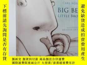 二手書博民逛書店Big罕見bear little brother..Y12498