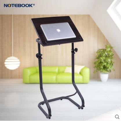 站立式沙發筆記本電腦桌床邊可移動升降講台桌新款書桌創意小桌子