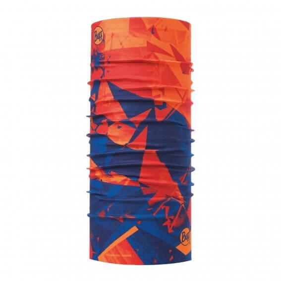【Buff】成人款 西班牙運動ORIGINAL經典頭巾-橘光藍影 117960555【全方位運動戶外館】