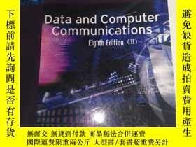 二手書博民逛書店Data罕見and Computer Communication eight edition II Person