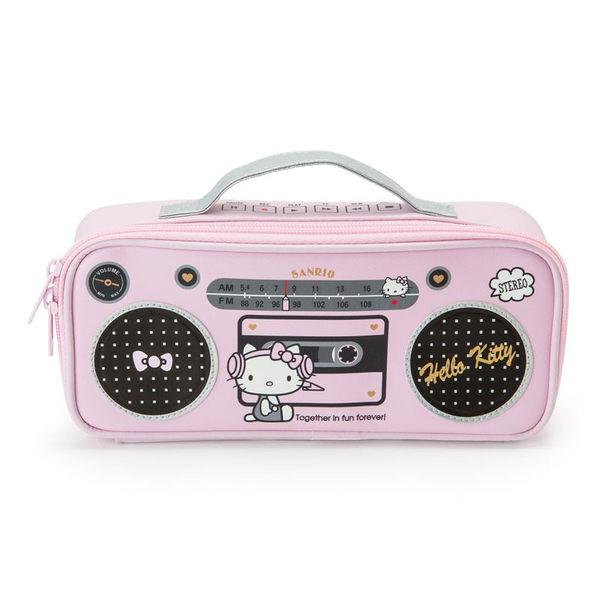 日本kitty筆袋化妝包收納包音響音符304327通販屋