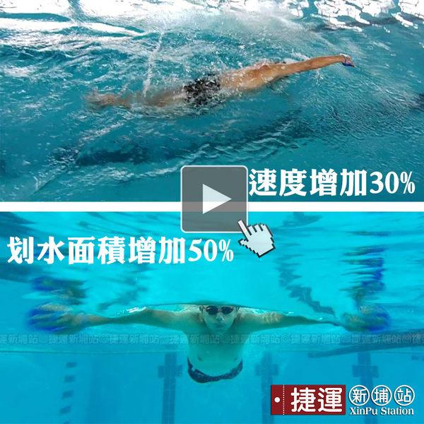 硬式游泳訓練划水手掌板