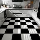 3D立體地貼 衛生間浴室防滑地自粘墻貼大理石瓷磚貼紙地板防水翻新耐磨TW【快速出貨八折鉅惠】