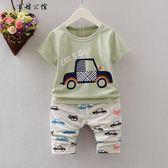 夏裝寶寶1-2周歲純棉短袖薄上衣 全館8折