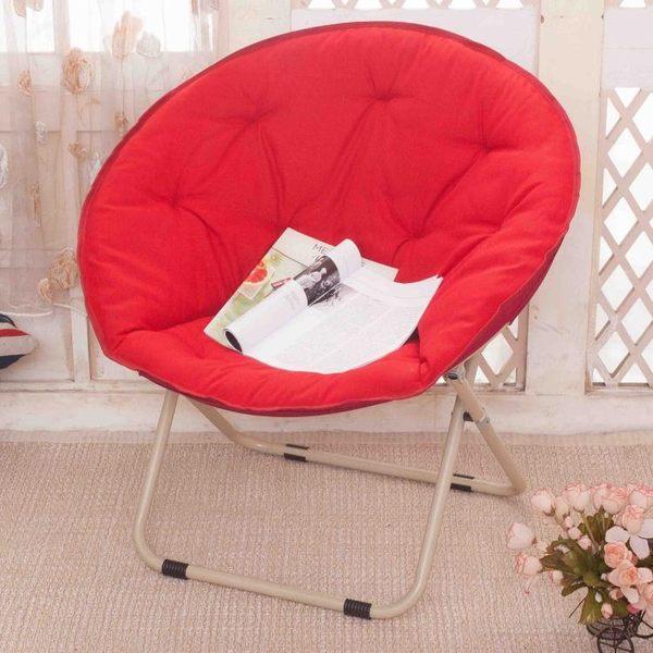 大號折疊椅月亮椅太陽椅懶人椅子雷達椅躺椅懶人沙發午休zg