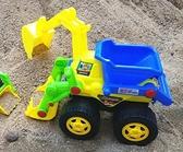 挖掘機玩具 兒童慣性玩具車攪拌車卡車挖土挖掘機 工程車汽車模型【快速出貨八折下殺】
