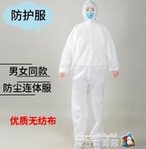 民用隔離衣防護服農藥噴灑連體服消毒服無紡布一次性防水服防塵服魔方