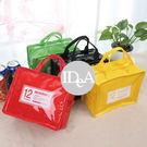 IDEA 彩色方形防水便當袋手提收納包午餐野餐提袋 馬卡龍 兒童 媽媽包 辦公