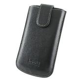 i-COSE 義大利Nappa 頭層皮 (真皮) LG KP500 抽拉皮套(可穿皮帶使用)