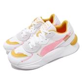 【海外限定】Puma 休閒鞋 RS 9.8 Proto Wns 白 粉紅 女鞋 復古慢跑鞋 運動鞋 【ACS】 37039301