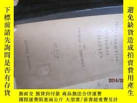 二手書博民逛書店微積分DIFFRENTIAL罕見AND INTEGRAL CAL