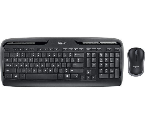 羅技 MK330r 無線鍵鼠組 便於攜帶、具備音樂控制功能