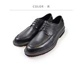 Waltz-柔軟真皮紳士鞋514049-02(黑)