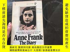 二手書博民逛書店Anne罕見Frank The Diary of a Young