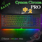 [ PC PARTY  ] 雷蛇 Razer 薩諾狼蛛幻彩專業版 Cynosa Chroma PRO RGB 薄膜式鍵盤