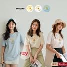 現貨-MIUSTAR LOLIPOP檸檬膠印棉質上衣(共3色)【NJ0378】