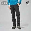 ADISI 男彈性撥水透氣快乾多口袋機能長褲AP2021070-1(3XL)大尺碼/城市綠洲 (防潑水 磨毛 速乾 魚鱗褲)