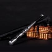 棒球棍 龍紋加厚合金鋼棒球棍防衛用品棒球棒防身車載武器打架鐵棍棒球桿 晶彩