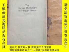 二手書博民逛書店The罕見Harper Dictionary of Foreign TermsY252403 C. O. Sy