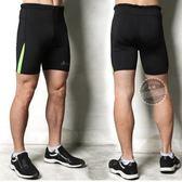 健身褲運動緊身短褲男 夏籃球跑步田徑訓練彈力打底【免運】