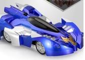 兒童玩具車遙控汽車爬墻車電動充電賽車吸墻車男孩小孩3-6-7周歲2色igo
