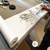 50米長書畫長卷宣紙加厚長卷整張國畫書法創作生宣紙【君來佳選】