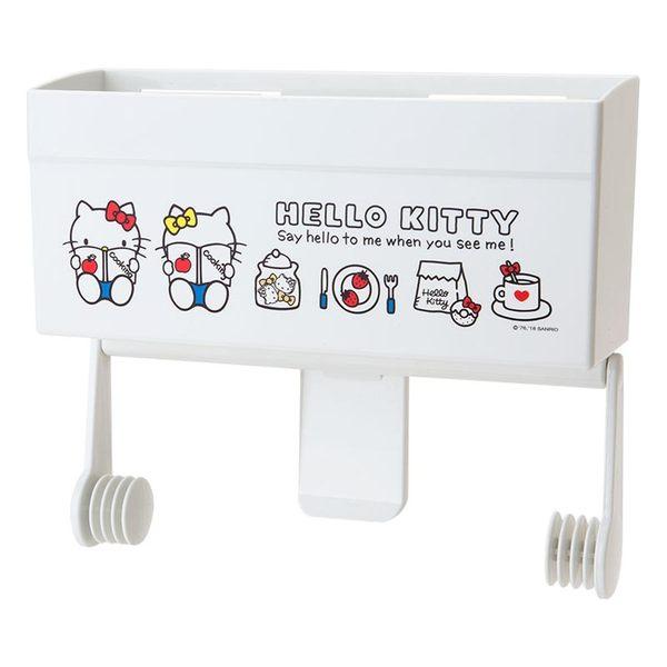 Sanrio HELLO KITTY可磁吸式廚房紙巾架(生活小物)★funbox★ 607371N