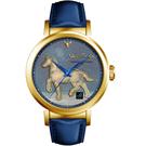 梵谷Van Gogh Swiss Watch梵谷經典名畫女錶 I-GLLH-07 標誌馬