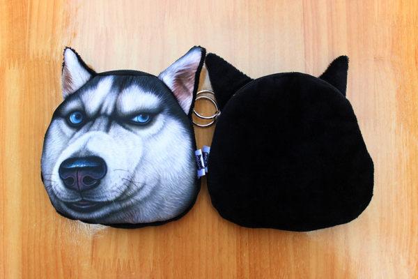 【AN004】 時尚潮流 動物零錢包 小狗款 鬥牛犬 哈士奇 沙皮 八哥 貴賓 法鬥 博美 狗狗