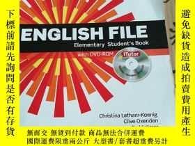 二手書博民逛書店English罕見File Elementary Student