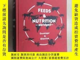 二手書博民逛書店英文書罕見FEEDS NUTRITION abridged 精裝 共824頁Y15969