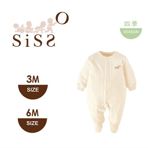 【SISSO有機棉】舒棉連腳兔裝(薄) 3M 6M