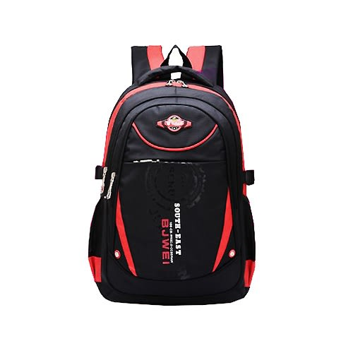 【17mall】時尚兒童減壓雙肩後背書包(紅)