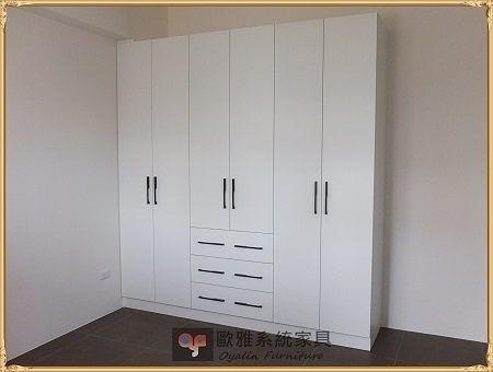 【系統家具】系統家具 / 防潮塑合板 / 臥室系統衣櫃 原價:51975 特價 36383