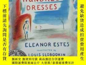 二手書博民逛書店THE罕見HUNDRED DRESSES 英文原版Y185017