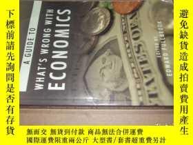 二手書博民逛書店A罕見Guide to What s Wrong with Ec