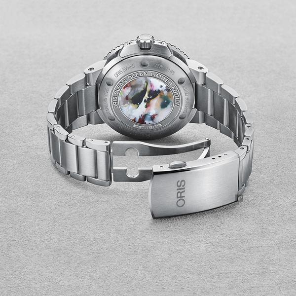 Oris 豪利時 CLEAN OCEAN 潔淨海洋限量錶-39.5mm 0173377324185-Set