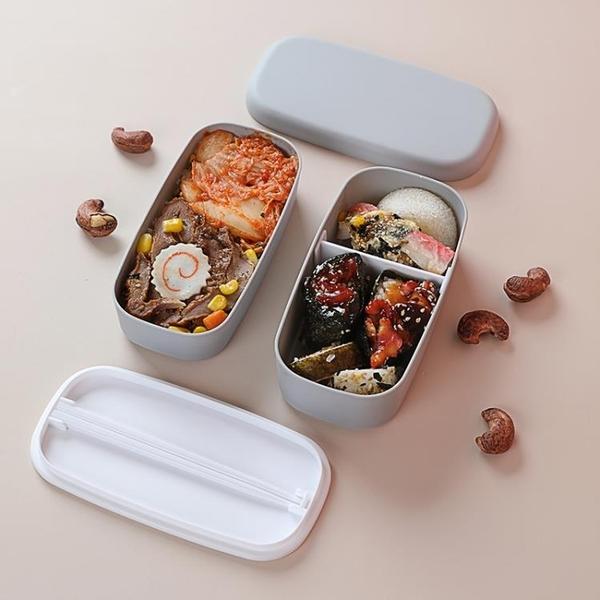 便當盒 水果餐盒外帶便攜兒童學生宿舍簡約便當盒微波爐可用小飯盒【快速出貨八折鉅惠】