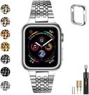 [2美國直購] MioHHR 不銹鋼錶帶 38/40mm 適用Apple Watch Series SE 6/5/4/3/2/1 型