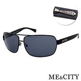 【南紡購物中心】【SUNS】ME&CITY 時尚飛行員金屬方框太陽眼鏡 抗UV400 (ME 110012 L600)
